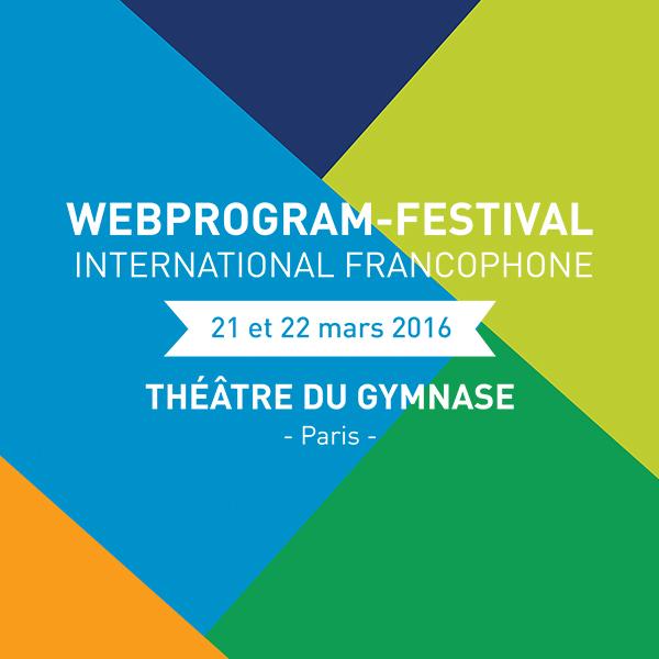 Création d'une affiche pour le WebProgram-Festival 2016. Mehdi Mellouk, Réalisateur et Graphiste à La Rochelle.